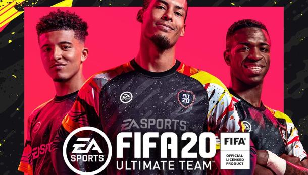 FIFA 20 PS poster