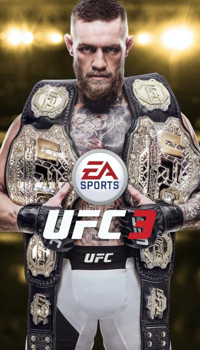 UFC 3 EA SPORTS poster